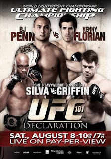 Watch UFC 101 Declaration B.J. Penn vs Kenny Florian Live