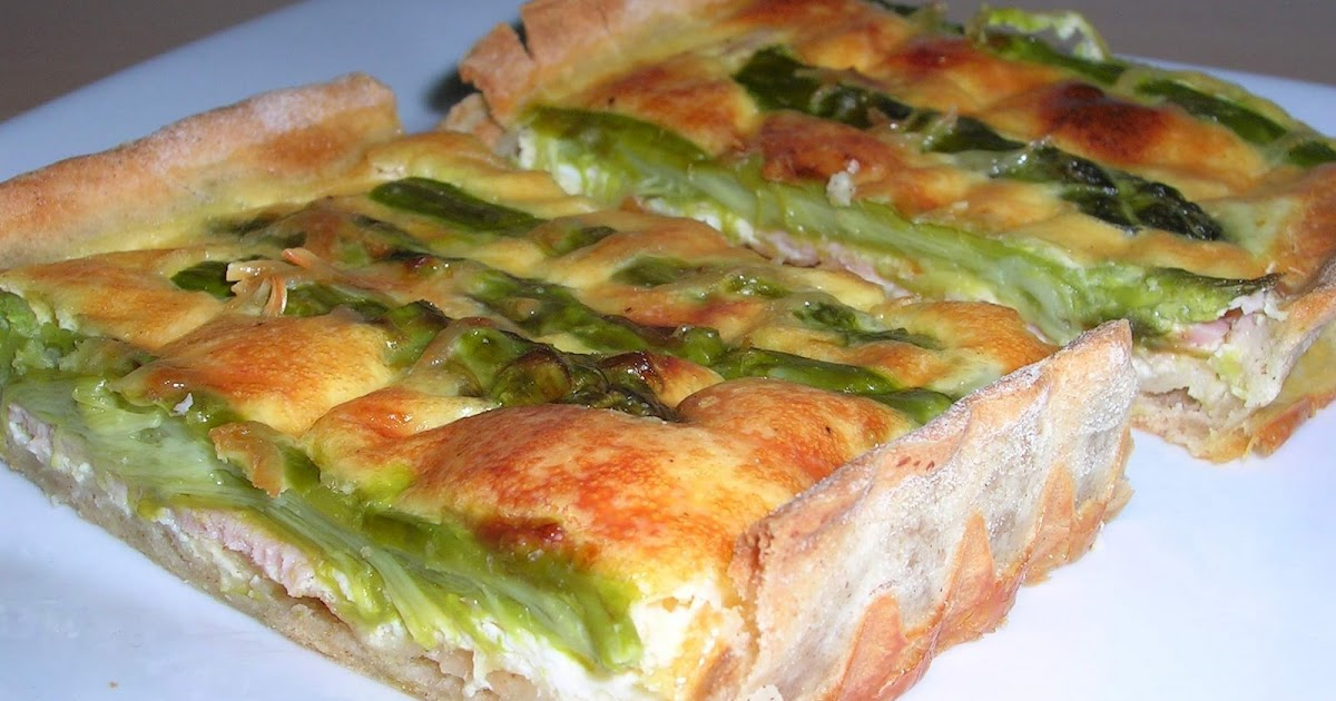 Dey cuisine quiche aux asperges vertes - Cuisiner les asperges vertes ...
