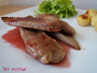 Dey cuisine aiguillettes de canard po l es sauce aux prunes pic e - Comment cuisiner aiguillettes canard ...