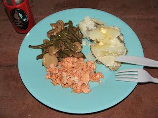 gluten-free salmon & potato