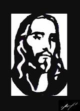 Cristo (Quadro vazado na madeira)