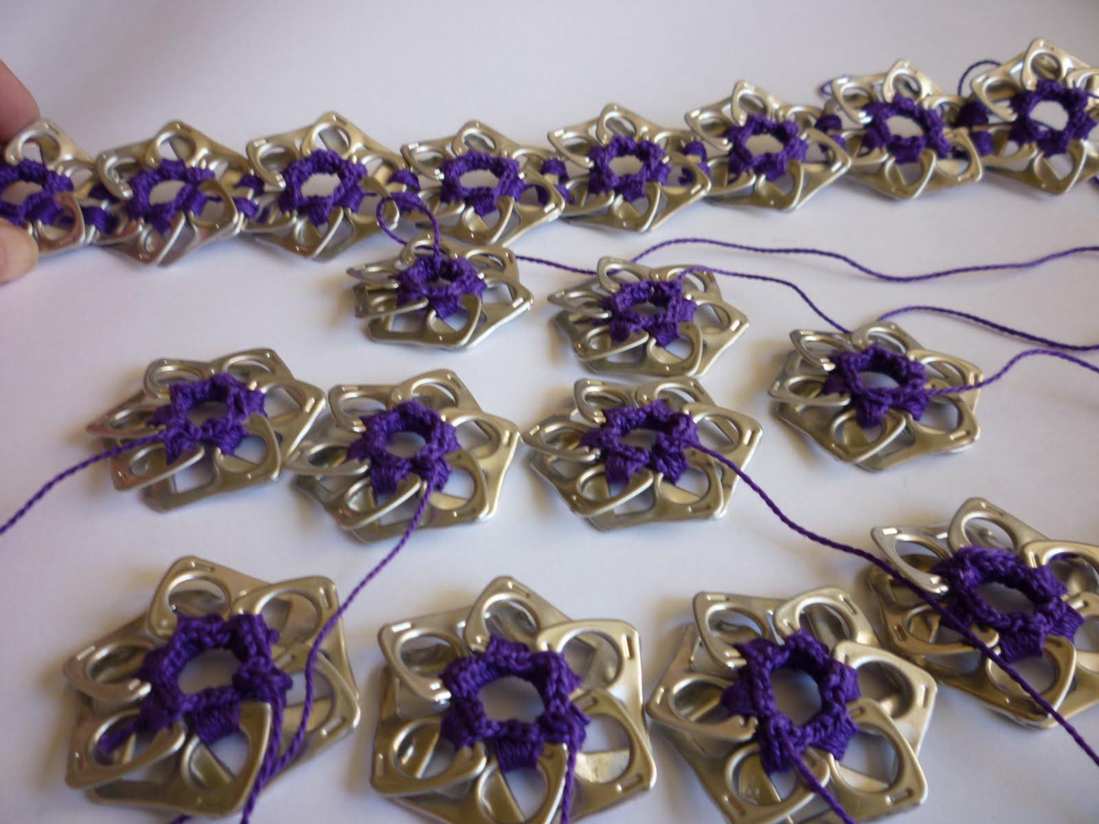 Mis crochets de colores: bolso anillas