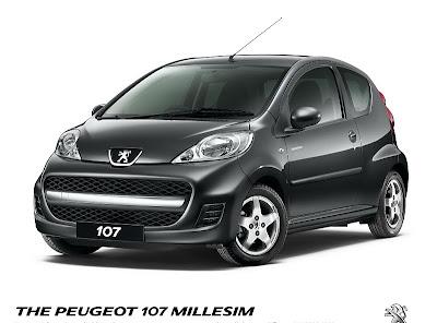 2010 Peugeot 107 Millesim 200 2010 New Peugeot 107 Millesim