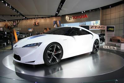 toyota ft hs naias   11 Toyota Working On New MR2 & Hybrid Supra