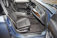 2010BMW550iGTFrontSeats001small 2010 BMW 550i GT Review & Test Drive