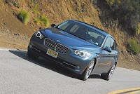 2010BMW550iGTHeadonActionUpPinUpTwo001small 2010 BMW 550i GT Review & Test Drive