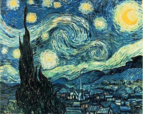 one artist a day: Vincent van Gogh/ Line Shows Emotion