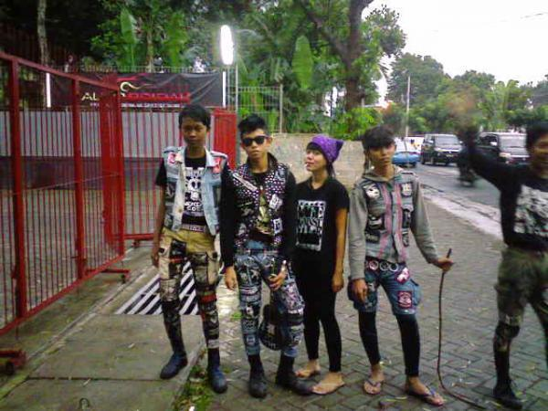 Perkembangan punk di dunia