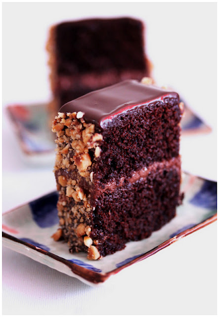 mini Black Magic Cake slice goes a long way.. .