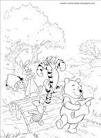 pagini de colorat primavara