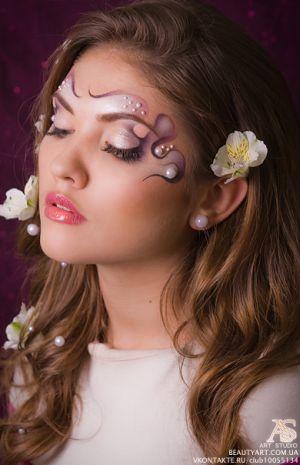Fantasy makeup designs