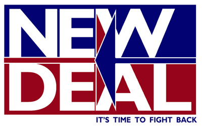 to what extent did the new deal strengthen