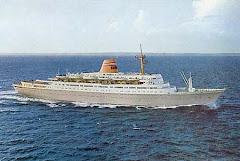 SAGAFJORD as built in 1965