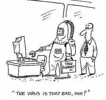 viruses on computer