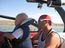 Boating with Mommy and Daddy!