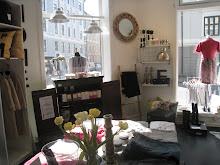 Butikken vår i Schøningsgt 3 på Majorstuen
