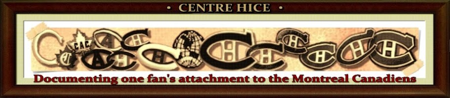Centre Hice: One Fan's Attachment to the Montreal Canadiens