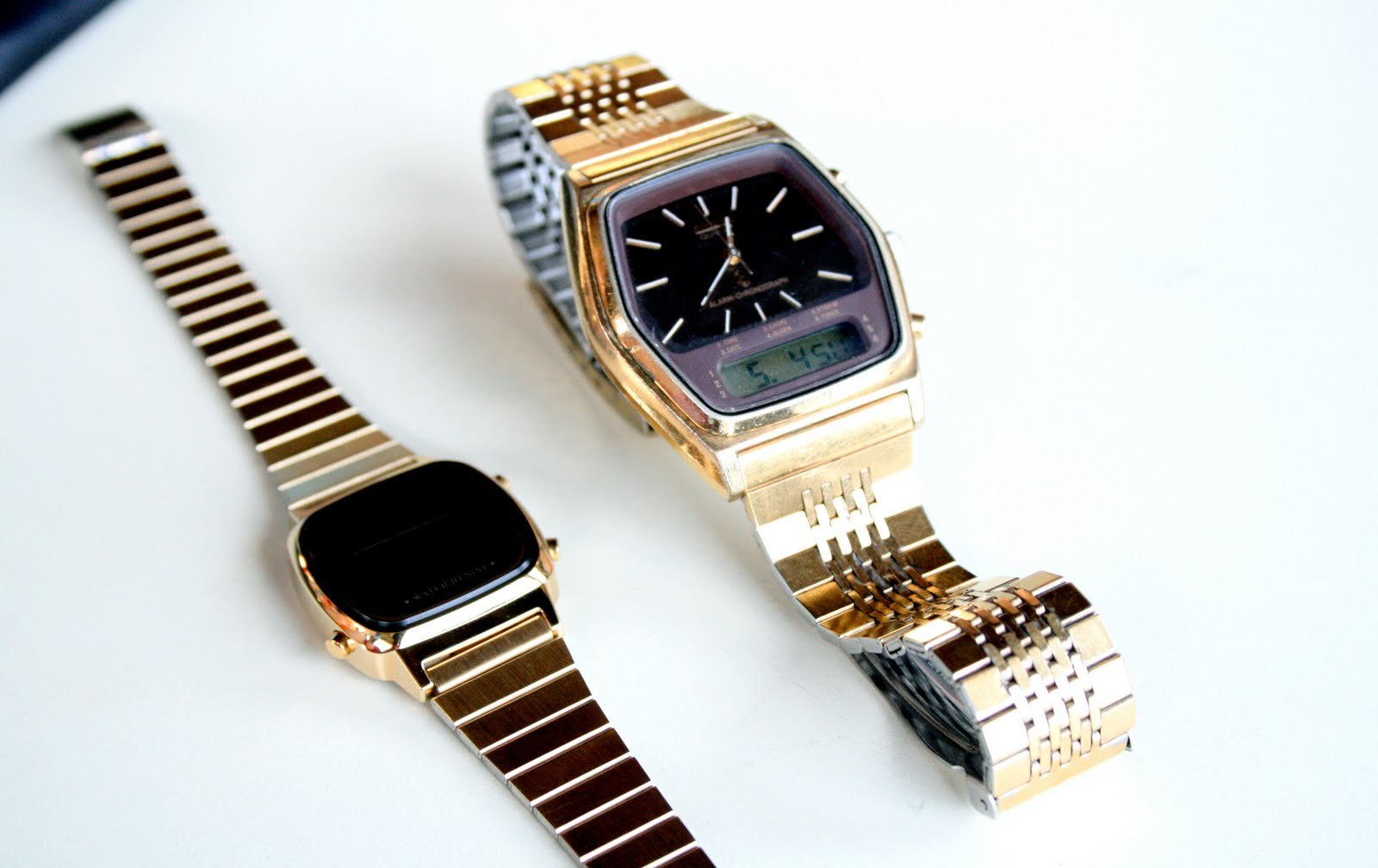 michael preppy pinkgold in normal lyst accessories runway slim watches watch metallic kors gallery chic pink product
