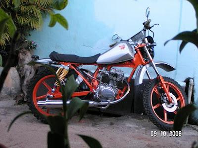 Modif trail Honda Gl 125