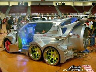 Tion Of Perodua Kancilextreme Car Modification Extreme Car Modifica