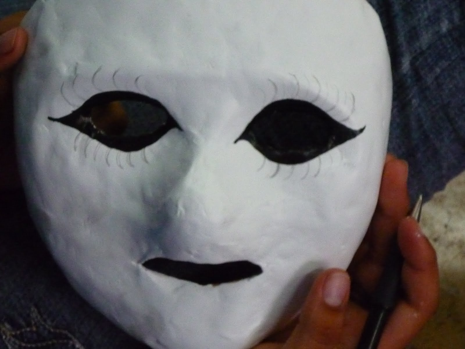 Como hacer una mascara de papel m 225 scara mariposa - Como hacer una mascara ...
