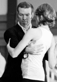 Damian Thompson tango instructor extraordinaire Hobart Tasmania Oct 15-17 2010