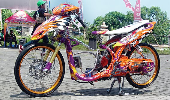 Picture of Modifikasi Mio Drag