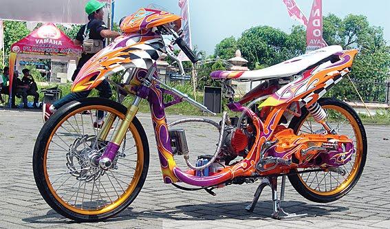 yamaha mio sporty motor modification class contest mio soul 2007 wah title=