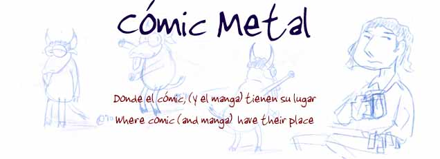 Cómic Metal