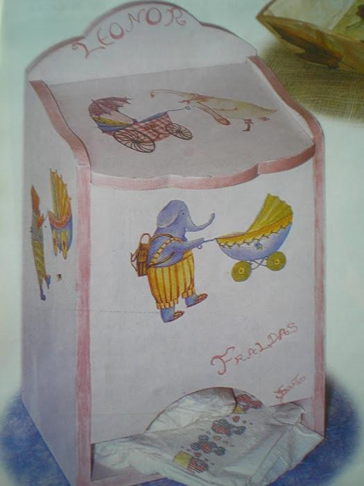 Caixa de Fraldas