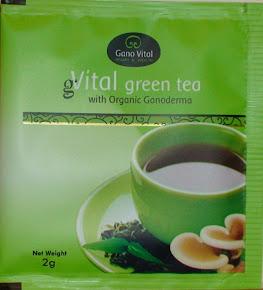 gVital ceai verde organic la plic
