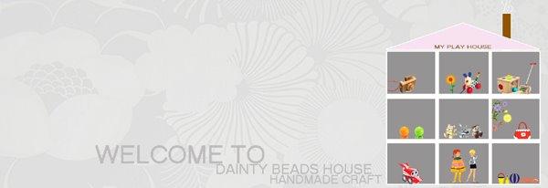 dainty beads house