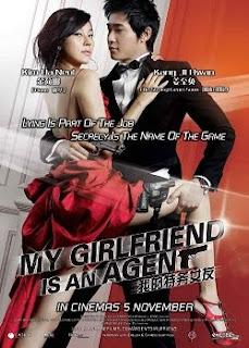 Filme Poster Minha Namorada é Um Agente BRRip RMVB Legendado