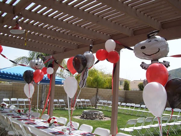 ♥Snoopy Themed Baby Shower!!♥