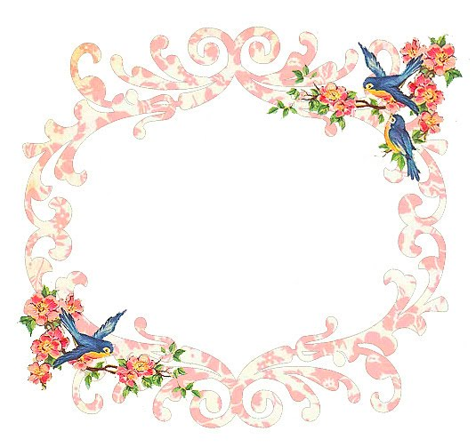 ♥Freebie Blue Bird Frame♥ - Free Pretty Things For You