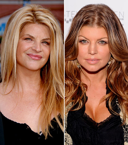 Kirstie Alley And Fergie The Kirstie Alley S Big Life