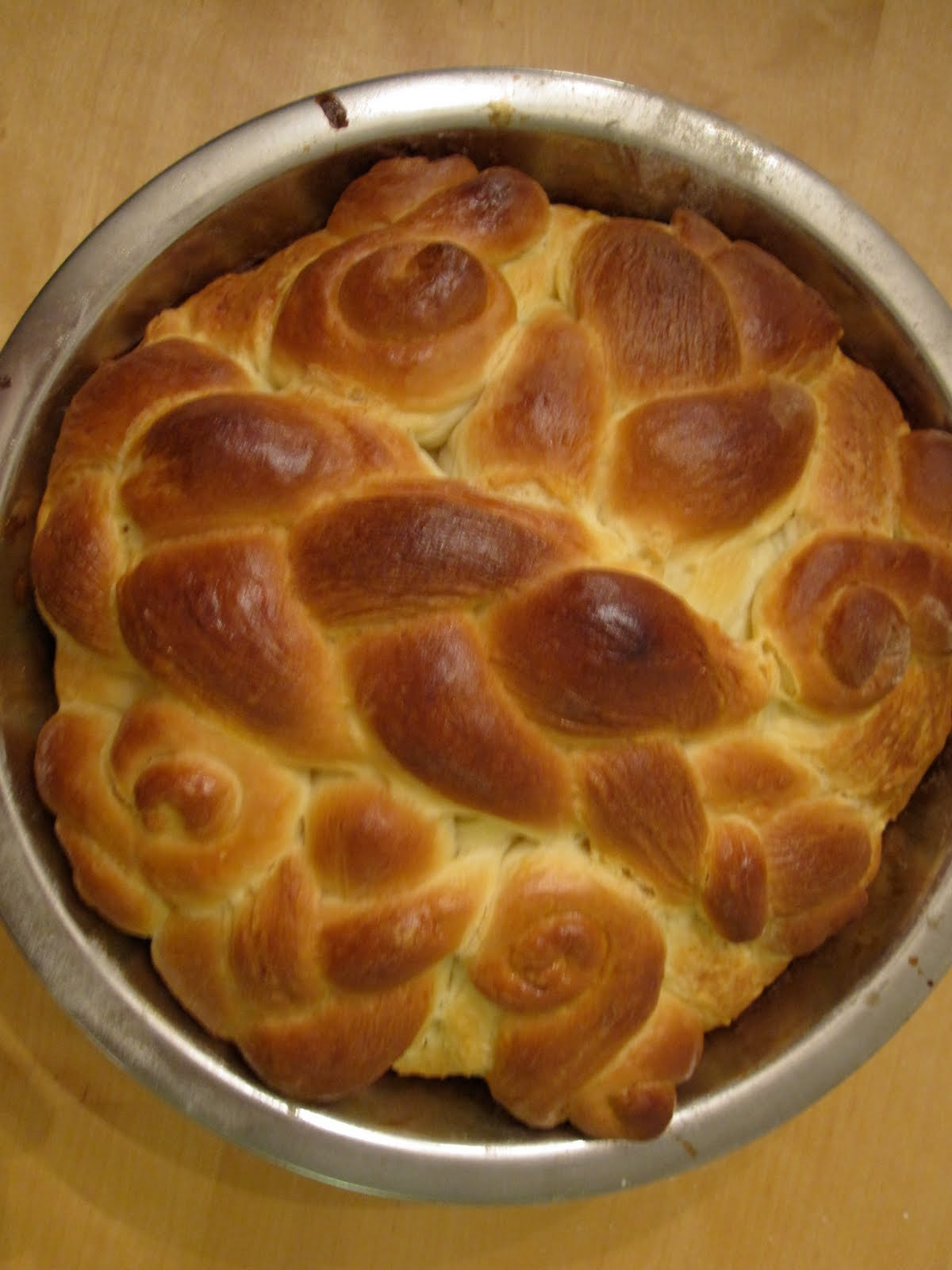 Downtown Anthropologist: Paska- Ukrainian Easter Bread