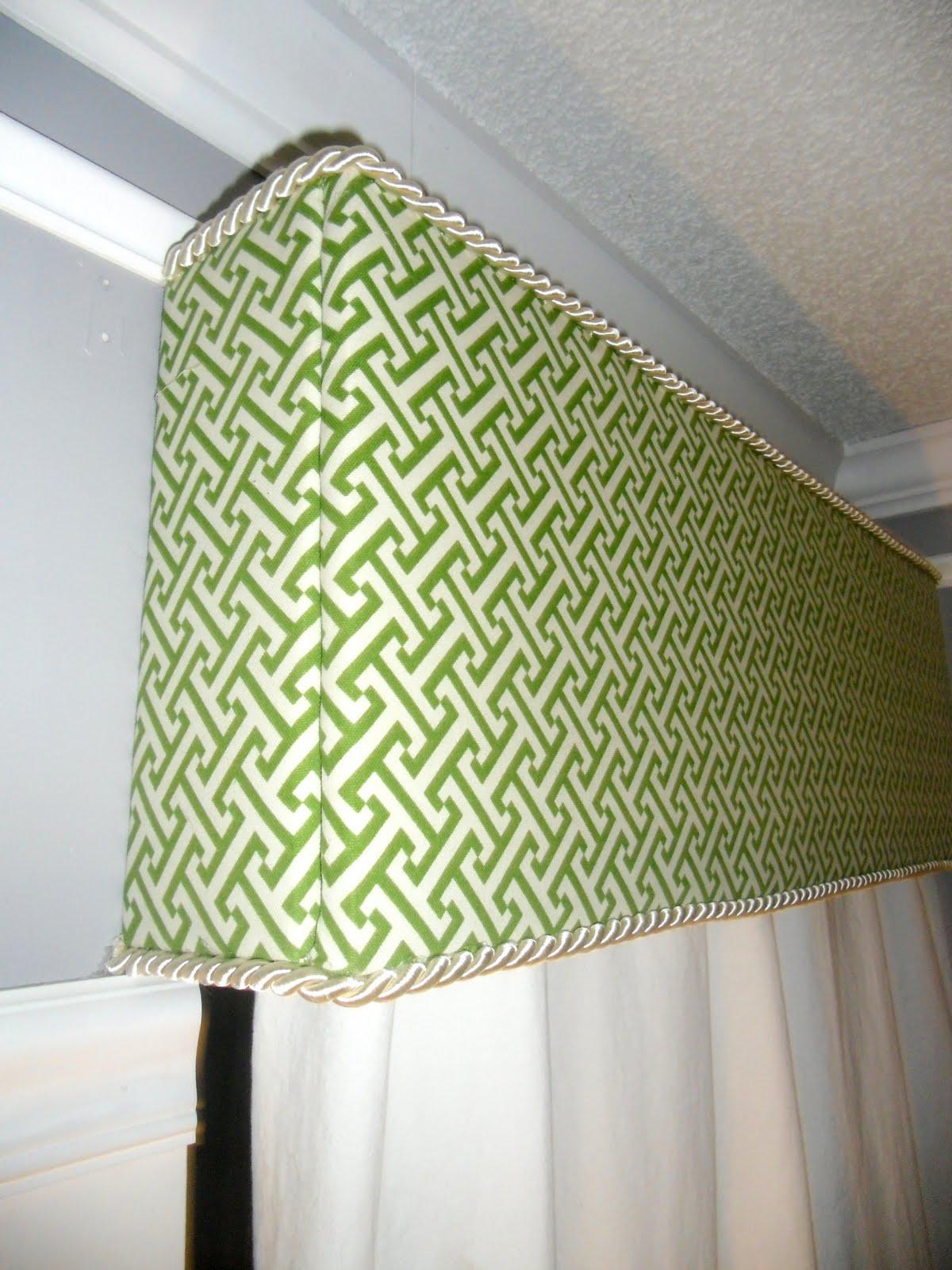 Interior Design Ideas: Brightly Colored Modern Cornice Boards