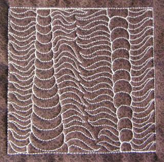 trilobite | free motion quilting