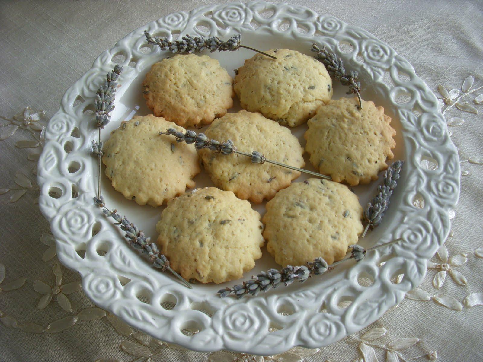 Bademli lavantalı kurabiye tarifi