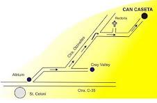 Mapa Can Caseta