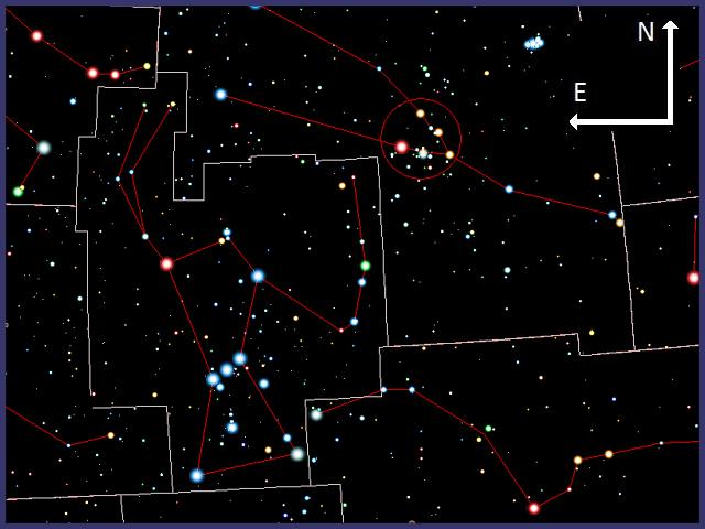 Las Hyades con prismáticos. MEL25-02