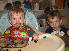 My brothers Zach and Joey on Zach's birthday