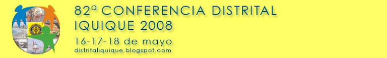 82a Conferencia Distrital Iquique 2008