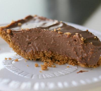 Tofu Chocolate Pie Cocoa Powder