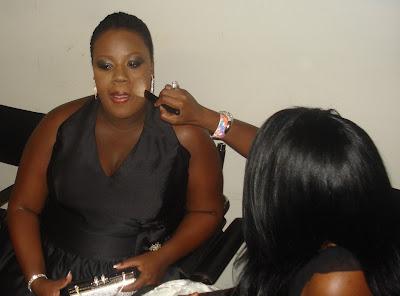 american idol lakisha jones with her makeup artist brandy gomez duplessis