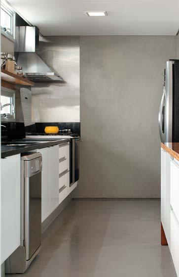 pisos com cimento queimado : CASA, OS CASOS: Algumas coisinhas - Cozinha, sala de jantar ...