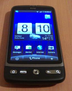 IMAG0145 HTC Desire İncelemesi