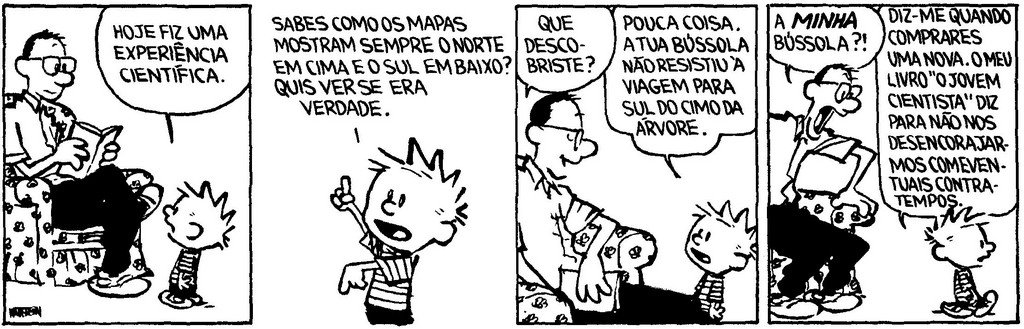 Calvin - Jovem Cientista
