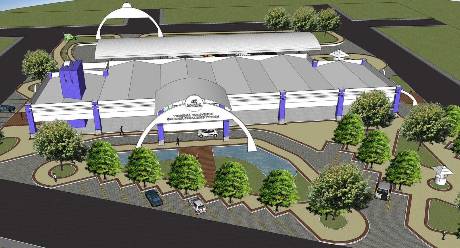 Lindomar Rodrigues: Obras de reforma e ampliação do terminal  #3329A2 1600 864